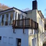 wintergarten und 2. Balkon OG1